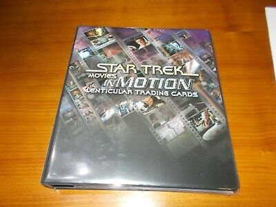 STAR TREK MOVIES IN MOTION Trading Cards Rittenhouse Full MASTER SET