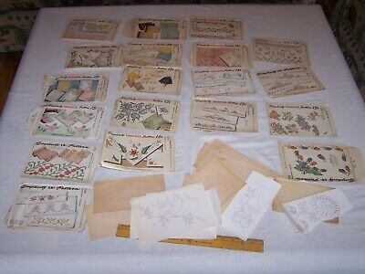 Vintage SIMPLICITY Embroidery Transfer Patterns - Parts Pieces