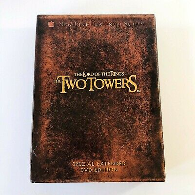 The Lord of the Rings: The Two Towers Special Extended DVD Edition 4 Discs 2003