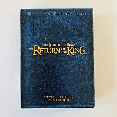 The Lord of the Rings:The Return of the King Special Extended DVD Edition 4-Disc
