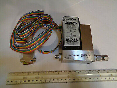 Unit Instruments UFC-1100A with DB-15 Ribbon Cable & Swagelok Fittings