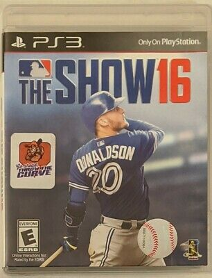 MLB: The Show 16- Sony PlayStation 3 - PS3 *Free Shipping*