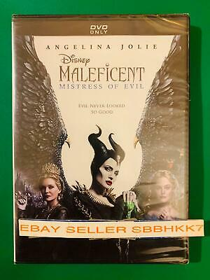 Maleficent Mistress of Evil DVD AUTHENTIC W/Disney Rewards Points {READ}