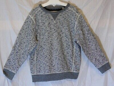 Boys Next Light Grey Fleck Stripe Thin Knit Sweater Jumper Age 5 Years