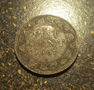 1907H Canada Large Cent - P1907H-7