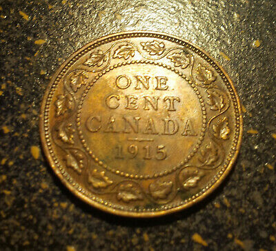 1915 Canada Large Cent - P1915-10