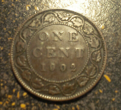 1902 Canada Large Cent - P1902-7