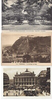 Vintage Black and White Postcards Circa 1800's-1900's Lot of 5
