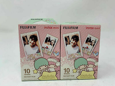 Fujifilm Instax Mini Little Twin Stars Instant Film (20sheets/2boxes) EXPIRED