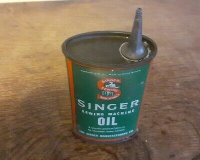 Vintage Singer Oil Can