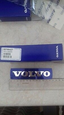 OEM 30796427 Large Grille Badge Emblem Nameplate Blue 133mm x 32mm for Volvo New