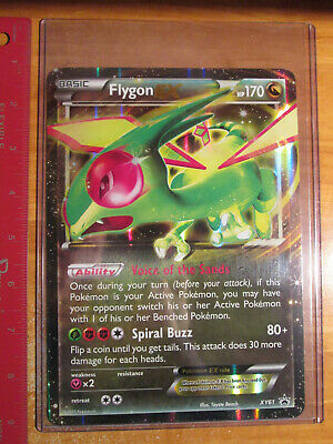 Normal /& JUMBO Pokemon XY61 Flygon EX OVERSIZED Holo Promo Details about  /2 CARDS NM