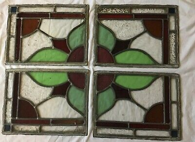 Vintage Original Reclaimed Stained Glass Windows