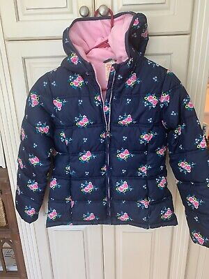 Girls Faded Glory Coat, Worn One Time, Size 10/12 Large (kids)