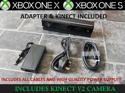 XBOX ONE X S KINECT MOTION SENSOR with ADAPTER for XBOX ONE S & PC. + TV MOUNT