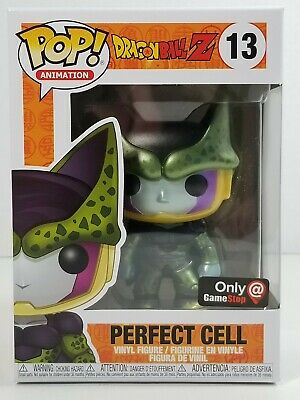 Funko Pop! Dragon Ball Z *Perfect Cell* Metallic #13 (Game Stop Exclusive)