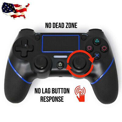 Wireless Bluetooth Gamepad Controller for Dualshock 4 PS4 Sony PlayStation 4 USA