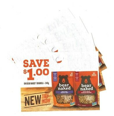 15 x Save $1.00 on Bear Naked Granola Coups (Canada)