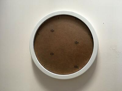 Round Photo Frame Wooden Hanging Picture 12''inch