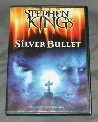 Silver Bullet (DVD, 2013) rare horror authentic US stephen king