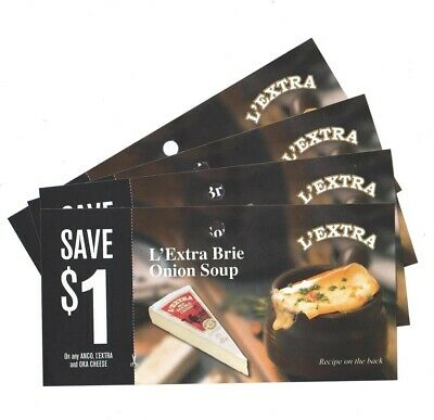 8x Save $1 on any Anco, L'EXTRA or Oka Cheese Coups (Canada)