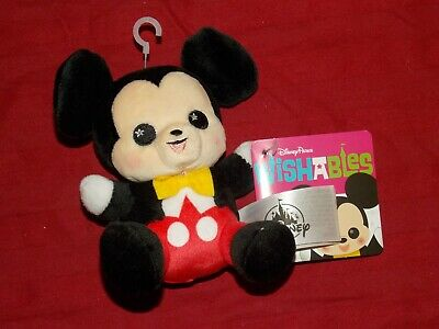 Disney Parks Wishables Mini Plush Mickey Mouse (TSUM TSUM) New with Tags