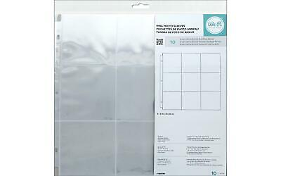 """/""""We R Ring Photo Sleeves 12/""""/""""X12/""""/"""" 10//Pkg-Full Page Set Of 3/"""""""
