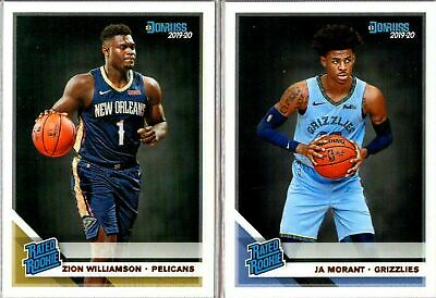2019-20 DONRUSS Basketball - Rated Rookie Cards - You Pick