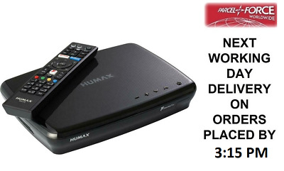Humax FVP-5000T 500GB Freeview Play Smart Digital TV Recorder + 2 Year Warranty