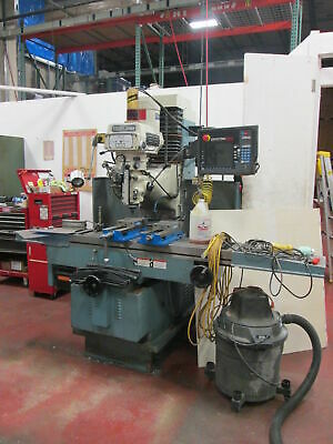 SWI Trak DPM5 SMX Control 3-Axis 220V 3Ph 5Hp Milling Machine New 05 W/Kurt Vise