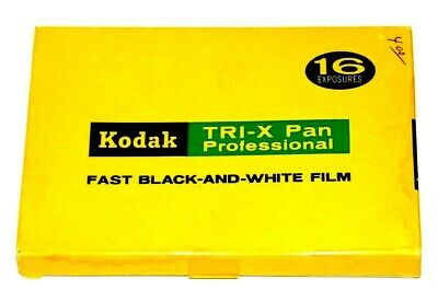 "Kodak Tri-X Film Pack-3 1/4""X 4 1/4""-- Vintage And Collectible!"