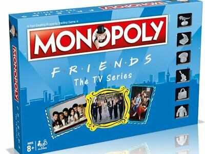 Friends The TV Series Monopoly 2018 Hasbro Board Game Factory, New & Sealed.