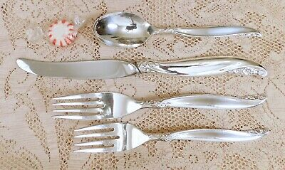 LEILANI 1961 SALAD or DESSERT FORK BY 1847 ROGERS BROS IS CANADA