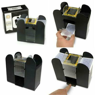 Automatic Card Battery-Operated Electric Shuffler 6 Deck For Classic Poker New