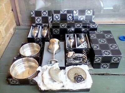 STRACHANS Silver Plate - In Original Boxes