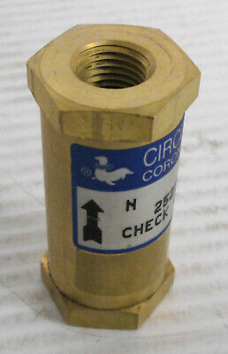 Circle Seal 252B-2PP Check Valve 3000PSI