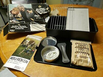 Vintage Abu-Roken Swedish Smoker Made in Sweden Camp Stove Camping Backpacking