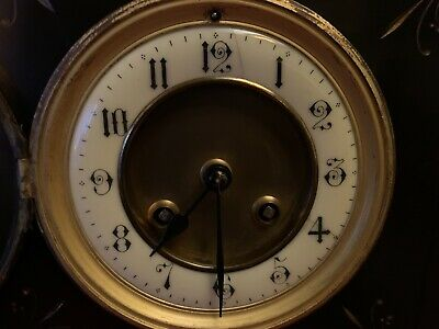Antique French Clock Movement Only
