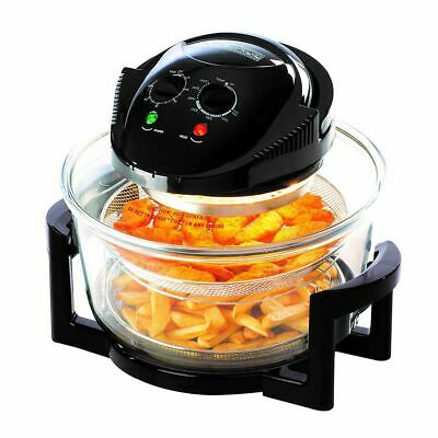 1300W 17L Large Oil Free Low Fat Air Fryer Healthy Frying Oven Halogen DAEWOO