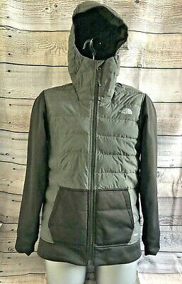 The North Face 550 Size Boys XL Children's Goose Down Hooded Jacket Coat  #362