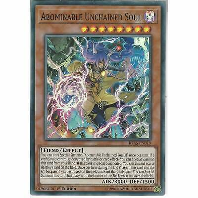 IGAS-EN019 Abominable Unchained Soul | 1st Edition | Super Rare Card YuGiOh TCG