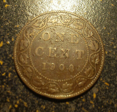 1908 Canada Large Cent - P1908-4