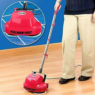 Mini Floor Scrubber Lightweight Hardwood Carpet Tile Laminate Home Polisher