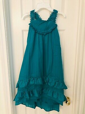 Nwt Matilda Jane Seriously Sweet Dress 💚 Girls Size 12 Hi-Lo Maxi 💚