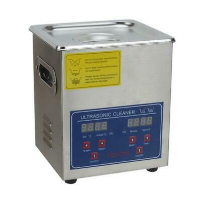 Ultrasonic Cleaner 2 L Liter Industry Heated Heater with Timer Jewelry Cleaning
