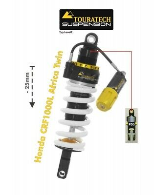 Touratech Suspension Tieferlegung -25mm Honda CRF1000L Africa Twin ab 2018 Typ E