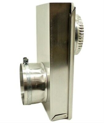 "Builder's Best 49901 0-5"" Dryer Vent Adjustable Periscope Offset, New"