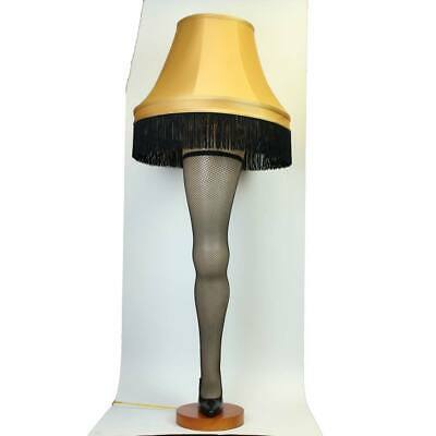 """#H4 Full Size 50"""" Leg Lamp From A Christmas Story"""