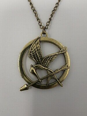 Hunger Games Necklace Mockingjay Bird Pendant Catching Fire Mocking Jay A194