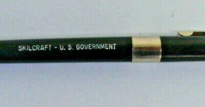 Vintage advertising ballpoint pen Skilcraft - U.S. Government black